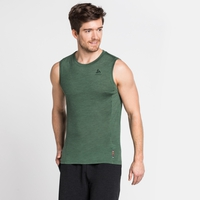 Herren NATURAL + LIGHT Baselayer Tanktop, climbing ivy, large