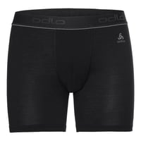 Boxershort NATURAL 100% MERINO WARM, black - black, large
