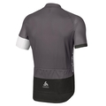 Stand-up collar s/s full zip TELEGRAPHE, odlo graphite grey - black, large