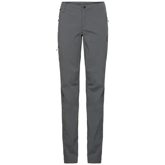 Women's Long-Length WEDGEMOUNT Pants, odlo steel grey, large