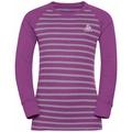 Completo intimo Active Warm Eco per bambini, hyacinth violet - grey melange - stripes, large