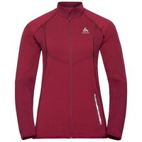 Jacket VELOCITY Light, rumba red - hibiscus, large