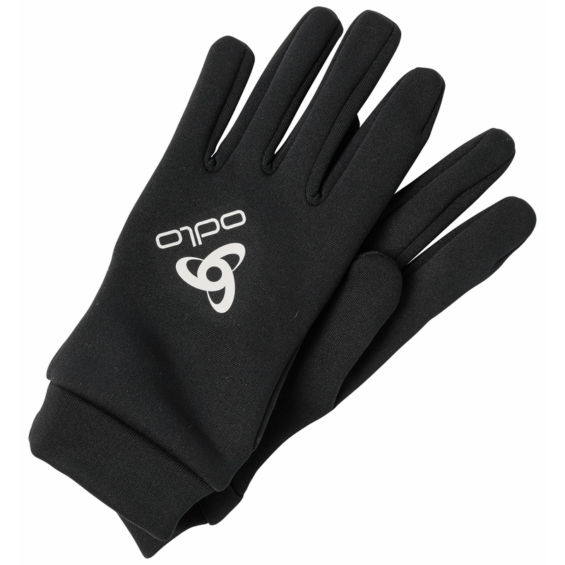 Stretchfleece Liner ECO Handschuhe, black, large
