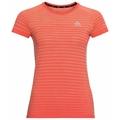 Women's BLACKCOMB PRO T-Shirt, hot coral - space dye, large