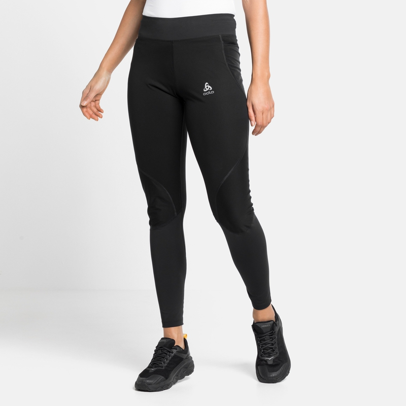 Women's ZEROWEIGHT WARM Tights, black, large