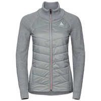 Women's X-POD FAN Midlayer, grey melange, large
