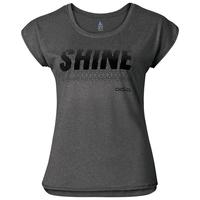 TEBE running shirt, black melange, large