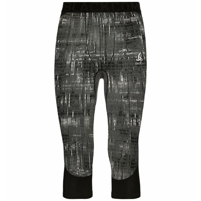 Men's BLACKCOMB 3/4 Base Layer Bottoms, black, large
