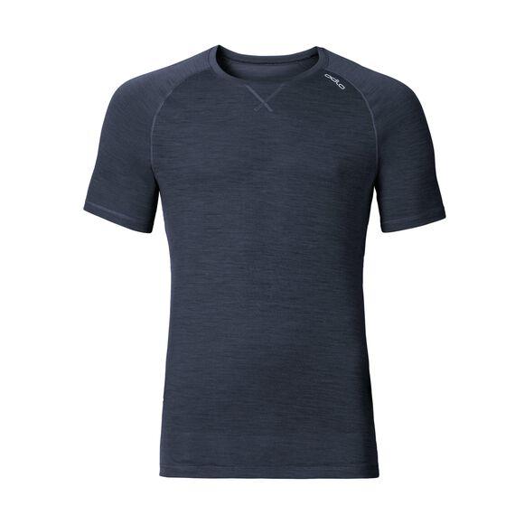 REVOLUTION LIGHT Baselayer Shirt Short-Sleeve, navy new melange, large