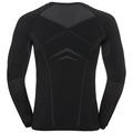 Maglia Base Layer sportiva a manica lunga PERFORMANCE EVOLUTION da uomo, black - odlo graphite grey, large