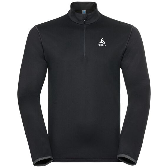 Midlayer 1/2 zip ALAGNA, black, large