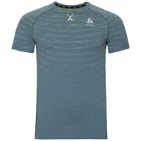 Men's BLACKCOMB PRO T-Shirt, china blue - space dye, large