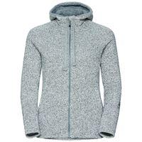 Hoody midlayer full zip Sherpa Hoody, grey melange, large