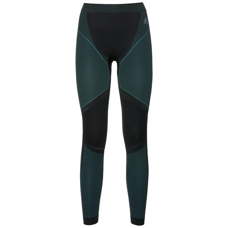 Women's PERFORMANCE WINDSHIELD XC LIGHT Sports-Underwear Pants, black - blue radiance, large