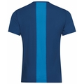 T-shirt CERAMICOOL ELEMENT pour homme, estate blue - blue aster, large