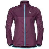 Veste de running LTTL femme, pickled beet, large