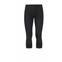 Pants 3/4 CUBIC, ebony grey - black, large