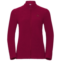 Midlayer full zip LE TOUR, rumba red, large