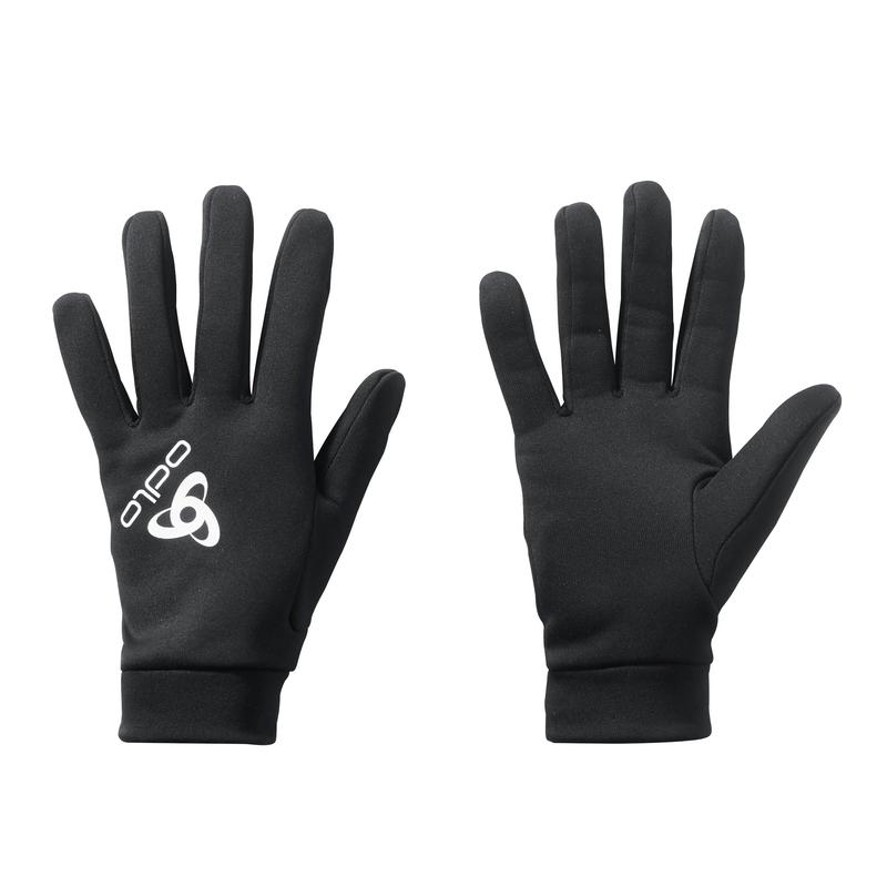 STRETCHFLEECE LINER WARM-handschoenen, black, large