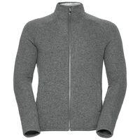 Midlayer full zip Sherpa Jacket, grey melange, large
