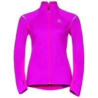 ZEROWEIGHT logic running jacket, pink glo, large