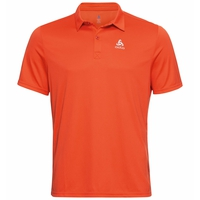 Men's CARDADA Polo Shirt, mandarin red, large