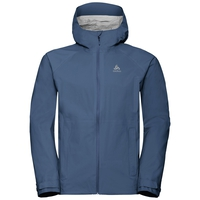 Men's AEGIS Hardshell Jacket, ensign blue, large