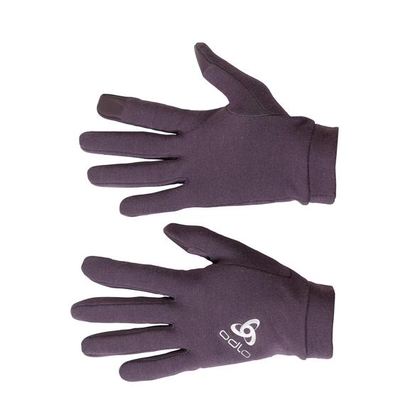 NATURAL+ WARM Handschuhe, vintage violet, large