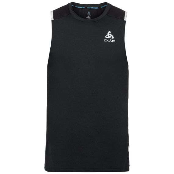 BL TOP Crew neck Tank ZEROWEIGHT Ceramicool, black, large