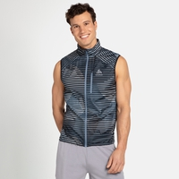 Men's ZEROWEIGHT Running  Vest, china blue - AOP SS20, large