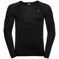 SUW TOP Crew neck l/s PERFORMANCE LIGHT, black, large