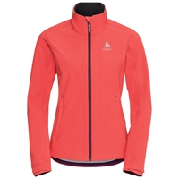 Veste softshell LOLO, hot coral, large