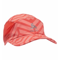 Cappello CERAMICOOL X-LIGHT, burnt sienna - graphic SS21, large