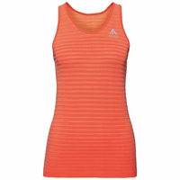 Women's BLACKCOMB PRO Singlet, hot coral - space dye, large