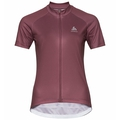 Women's ELEMENT PRINT Short-Sleeve Cycling Jersey, roan rouge, large
