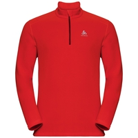 Men's LE TOUR 1/2 Zip Midlayer, poinciana, large