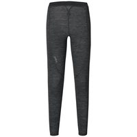 Women's NATURAL + WARM Base Layer Pants, black melange, large