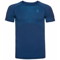 T-shirt technique PERFORMANCE LIGHT pour homme, estate blue - blue aster, large