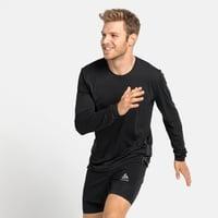 ZEROWEIGHT CHILL-TEC-hardloop-T-shirt met lange mouwen voor heren, black, large