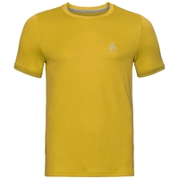 T-shirt F-DRY da uomo, lemon curry, large