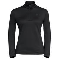 Women's CAVRADI 1/2 Zip Midlayer, black, large