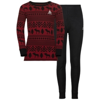 Set ACTIVE Originals WARM REINDEER, red dahlia - black, large