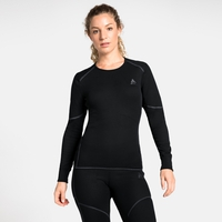 Damen ACTIVE X-WARM Funktionsunterwäsche Langarm-Shirt, black, large