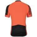 Stand-up collar s/s full zip UMBRAIL Ceramicool X-Light, flame - black, large