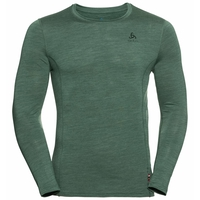 Men's NATURAL + LIGHT Long-Sleeve Base Layer Top, climbing ivy, large