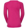 Sous-vêtement technique T-shirt manches longues ACTIVE WARM KIDS, beetroot purple, large