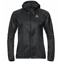 Damen WISP WINDPROOF Jacke, black, large