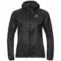 Women's WISP WINDPROOF Jacket, black, large