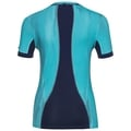 CeramiCool Pro Baselayer Shirt mit Print Damen, blue radiance - peacoat, large