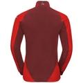Jacket AEOLUS Warm, fiery red - syrah, large